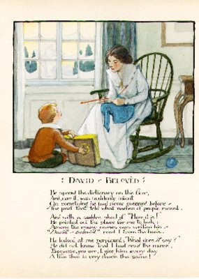 """""""David-Beloved"""" from The Book of David, 1916"""