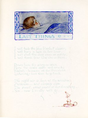 """""""Last Things"""" from About Any Small Person, 1922"""