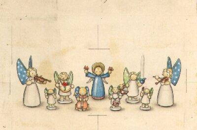 Original Illustration for Prayer for a Child