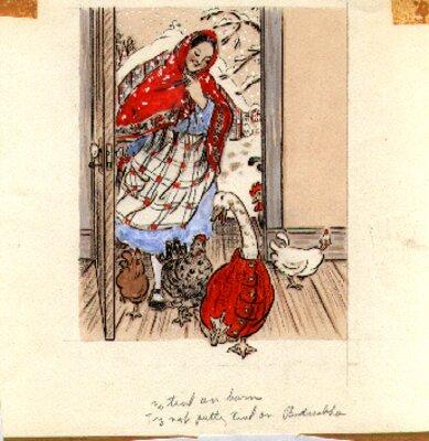 Original Illustration for Maminka's Children