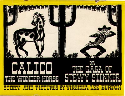 Calico the Wonder Horse, Cover