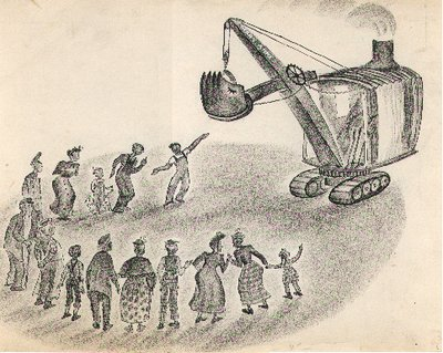 Mike Mulligan and His Steam Shovel Sketch